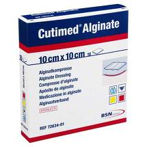 Cutimed Alginate Alginatkompressen 10x10cm