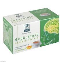 Produktbild Baders Apotheken Tee Gedächtnis Filterbeutel
