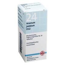 Produktbild Biochemie DHU 24 Arsenum jodatum D 12 Tabletten