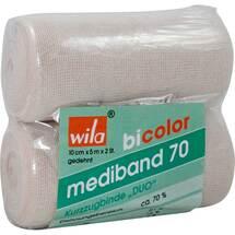 Produktbild Mediband 70 Kurzzugbinde bicol.Duo 10cmx5m w. / haut