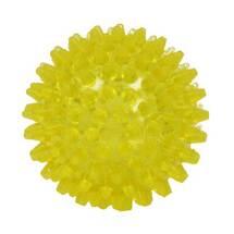 Produktbild Igelball 8cm gelb transparen