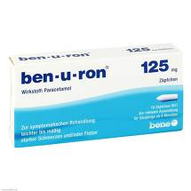 Produktbild Ben-U-Ron 125 mg Suppositorien