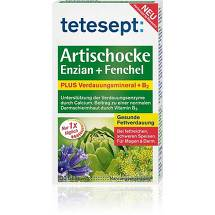 Produktbild Tetesept Artischocke plus Enzian + Fenchel Filmtabletten