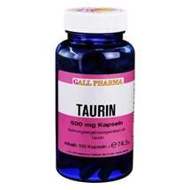 Produktbild L-Taurin 500 mg Kapseln