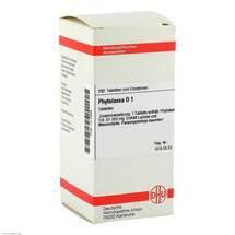 Produktbild Phytolacca D 1 Tabletten