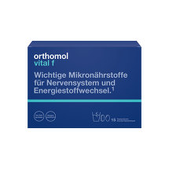 Orthomol Vital F 15 Granulat / Kapseln Kombipackung