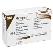 Micropore Vliespflaster 9,1 mx2,5 cm haut 1533 - 1