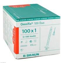 Produktbild Omnifix Duo 100 Insulin Einm