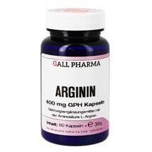 Produktbild Arginin 400 mg GPH Kapseln