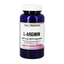 L-Arginin 500 mg GPH Kapseln