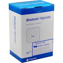 Produktbild Biatain Alginate Kompressen 5x5 cm
