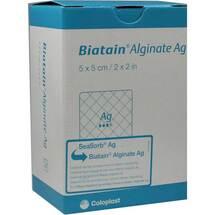 Produktbild Biatain Alginate Ag Kompressen 5x5 cm mit Silber