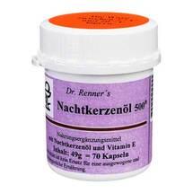 Produktbild Nachtkerzenöl 500 mg Dr. Renner`s Kapseln