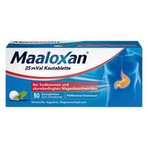 Produktbild Maaloxan 25 Mval Kautabletten
