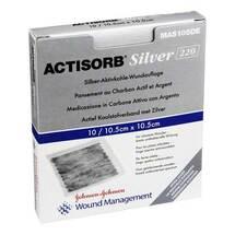 Produktbild Actisorb 220 Silver 10,5x10,5 cm steril Kompressen