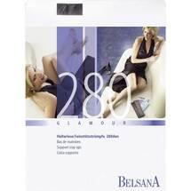 Belsana glamour AG 280d.nor. + Spitzenhaftband S schwarz mit S