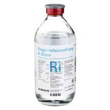 Produktbild Ringer Lösung B.Braun Glas Infusionslösung