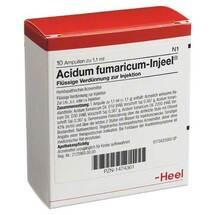 Produktbild Acidum fumaricum Injeel Ampullen