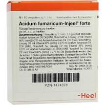 Produktbild Acidum fumaricum Injeel forte Ampullen
