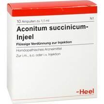 Produktbild Acidum succinicum Injeel Ampullen