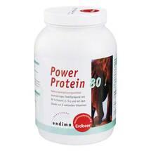 Produktbild Power Protein 80 Erdbeer Pul