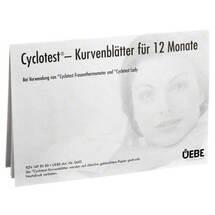 Produktbild Cyclotest Kurvenblätter für Fruchtbarkeitsprofil