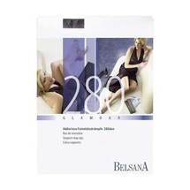 Produktbild Belsana glamour AG 280d.lang + Spitzenhaftband S schwarz mit S