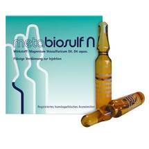 Produktbild Metabiosulf N Injektionslösung