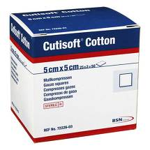 Produktbild Cutisoft Cotton Kompresse 5x5cm