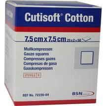 Produktbild Cutisoft Cotton Kompresse 7,5x7,
