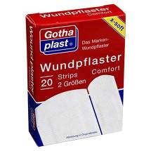Produktbild Gothaplast Wundpflaster comfort 2 Größen