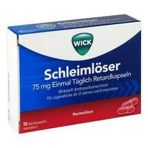 Produktbild WICK Schleimlöser 75 mg Einmal Täglich Retardkapseln