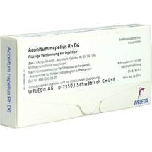 Produktbild Aconitum napellus Rh D 6 Ampullen