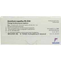 Produktbild Aconitum napellus Rh D 30 Ampullen