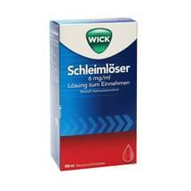Produktbild WICK Schleimlöser 6 mg / ml Lösung zum Einnehmen