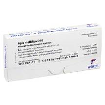 Produktbild Apis mellifica D 10 Ampullen