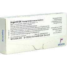 Produktbild Argentit D 6 Ampullen