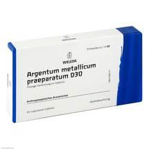 Produktbild Argentum metallicum Präparat D 30 Ampullen