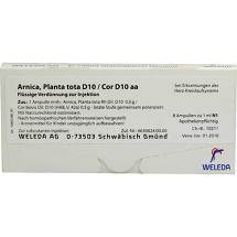 Produktbild Arnica Planta Tota D10 / Cor D10 aa Ampullen
