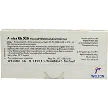 Produktbild Arnica RH D 30 Ampullen