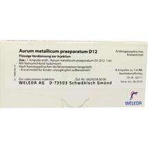Produktbild Aurum metallicum Präparat D 12 Ampullen