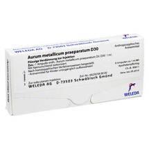 Aurum metallicum Präparat D 30 Ampullen