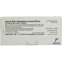Aurum D30 / Equiset.arvense D20 aa Ampullen