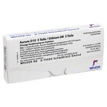Aurum D10 / Stibium D8 Ampullen