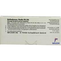Produktbild Belladonna Radix Rh D 6 Ampullen