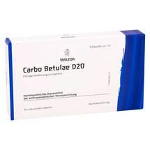 Produktbild Carbo Betulae D 20 Ampullen