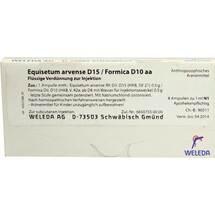 Produktbild Equisetum arvense D 15 / Formica D 10 aa Ampullen