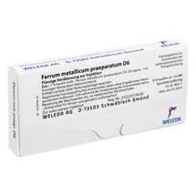 Ferrum metallicum Präparat D 6 Ampullen