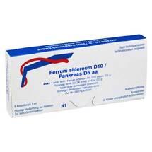 Produktbild Ferrum sidereum D10 / Pankreas D6 aa Ampullen