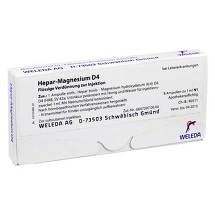 Hepar-Magnesium D 4 Ampullen Erfahrungen teilen